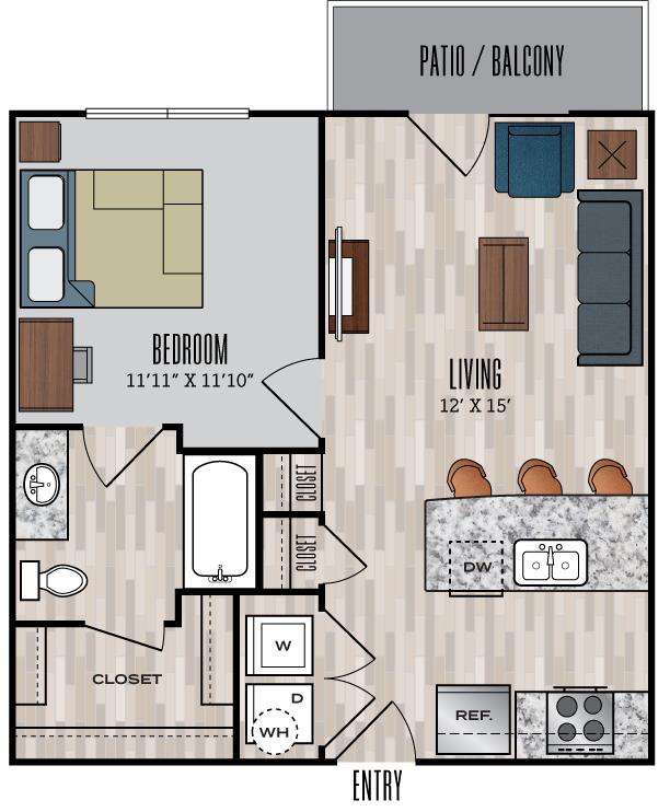848 Mitchell floor plan